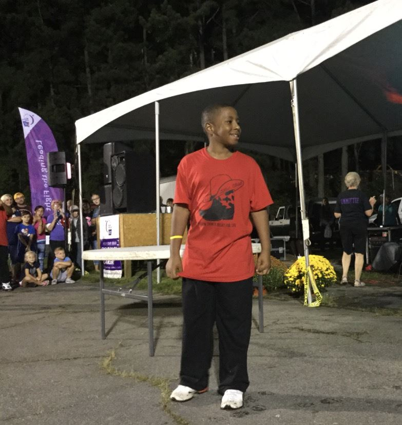North End Student Recognized at Relay for Life