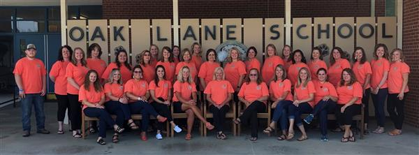 Oak Lane 2019-20 Staff Photo