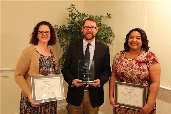 Greg Turner of Person High School named 2018 Person County Schools Teacher of the Year