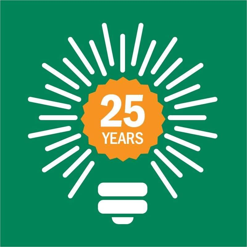 25 Years of Bright Ideas Grants Logo