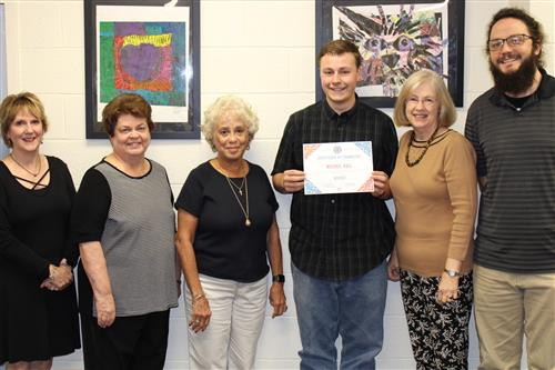 Michael Hall with Board of Education